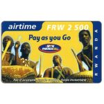 Phonecard for sale: Traditional players, FRW 2500