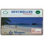 The Phonecard Shop: Les Vacances I, 002A, 60 units