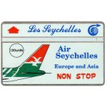 The Phonecard Shop: Air Seichelles, 105H, 120 units