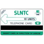 The Phonecard Shop: Sierra Leone, First issue, green logo, 10 units