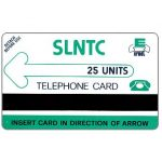 The Phonecard Shop: Sierra Leone, First issue, green logo, 25 units