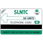 The Phonecard Shop: Sierra Leone, First issue, green logo, 50 units