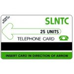The Phonecard Shop: Test card, matt PET, 25 units