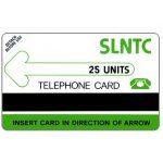 The Phonecard Shop: Sierra Leone, Test card, matt PET, 25 units