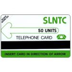 The Phonecard Shop: Sierra Leone, Test card, matt PET, 50 units