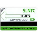 The Phonecard Shop: Sierra Leone, Test card, shiny PVC, 10 units
