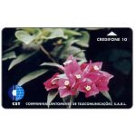 The Phonecard Shop: Sao Tome & Principe, Flowers, 10 units