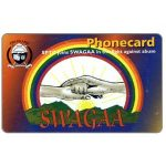 "Phonecard for sale: ""SWAGAA"" 1, Expiry Date 03/2002, E10"