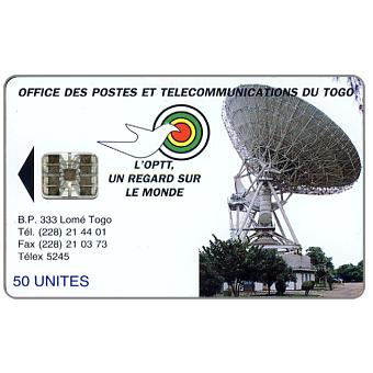 Earth Station, reverse B, red code at bottom, 50 units