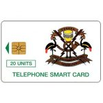The Phonecard Shop: P&T - Telecom Logo, 20 units