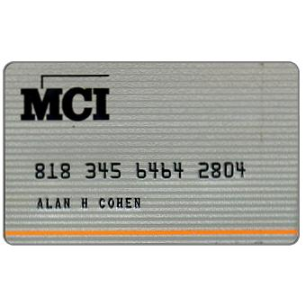 Phonecard for sale: MCI , telephone credit card