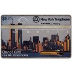 The Phonecard Shop: Nynex - First issue, NYC skyline by day, $5.25