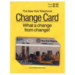 The Phonecard Shop: Nynex - First issue, NYC skyline by day, $5.25, sealed in original wallet