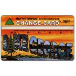 The Phonecard Shop: Nynex - Wish You Were Here 2/5, Lake George, $5.25