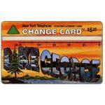 The Phonecard Shop: U.S.A., Nynex - Wish You Were Here 2/5, Lake George, $5.25