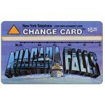 The Phonecard Shop: U.S.A., Nynex - Wish You Were Here 3/5, Niagara Falls, $5.25