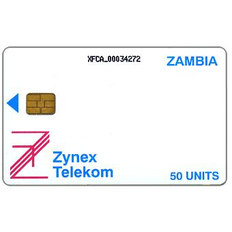 The Phonecard Shop: Zynex - First issue, 50 units