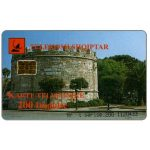 The Phonecard Shop: Albania, Views of Albania, Tower, 200 impulse