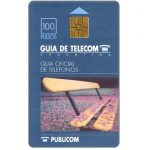 The Phonecard Shop: Argentina, Telecom Argentina - Publicom white pages, 100 pulsos