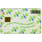 The Phonecard Shop: Argentina, Telefonica de Argentina - La Naturaleza Pide La Palabra. Escuchémosla, 25 fichas