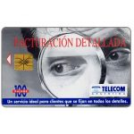 The Phonecard Shop: Argentina, Telecom Argentina - Facturacion Detallada, 100 pulsos