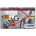 The Phonecard Shop: Argentina, Telecom Argentina - Transferencia De Llamada, 100 pulsos