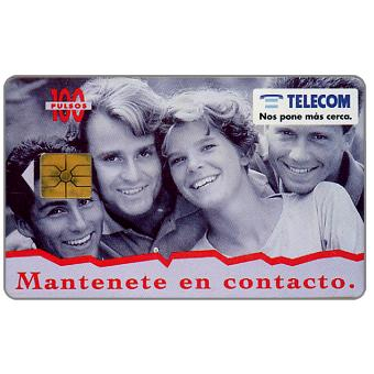 Phonecard for sale: Telecom Argentina - Keep in touch, 100 pulsos