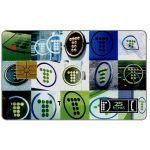 The Phonecard Shop: Telefonica de Argentina - Logos, 25 fichas
