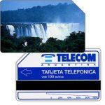 The Phonecard Shop: Argentina, Telecom Argentina - Iguazu falls, 100 pulsos
