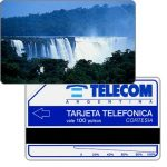 The Phonecard Shop: Argentina, Telecom Argentina - Iguazu falls, Complimentary 100 pulsos