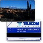 The Phonecard Shop: Argentina, Telecom Argentina - Jujuy Cactus, 100 pulsos