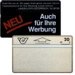 The Phonecard Shop: Sticker-Grundkarten, 005D, 20 units