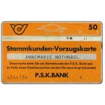 The Phonecard Shop: Austria, PSK Stammkunden Vorzugskarte 1, 806E, 50 units