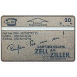 The Phonecard Shop: Austria, Zell am Ziller, 20 units