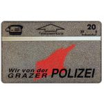 The Phonecard Shop: Austria, Grazer Polizei, 20 units