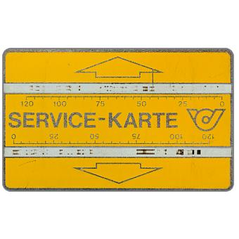 Service card, without notch, 804S, 240 units