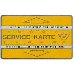 The Phonecard Shop: Austria, Service card, notched, 003A, 240 units