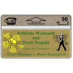 The Phonecard Shop: Frohliche Weihnacht, 109K, 20 units