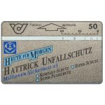 The Phonecard Shop: Austria, Hattrick Unfallschutz, inverted code, 50 units