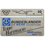The Phonecard Shop: Austria, Bundeslander Turbo Haftpflicht, 50 units