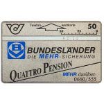 The Phonecard Shop: Austria, Bundeslander Quattro Pension, 50 units