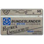 The Phonecard Shop: Austria, Bundeslander Hattrick Unfallschutz, 50 units