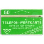 The Phonecard Shop: Austria, Definitive, 'Damit sie noch...', 50 units