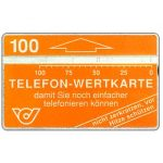 The Phonecard Shop: Definitive, 'Damit sie noch...', with '100', 100 units