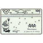 The Phonecard Shop: Austria, Zodiacus, Wassermann, 100 units