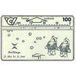 The Phonecard Shop: Austria, Zodiacus, Zwillinge, 100 units