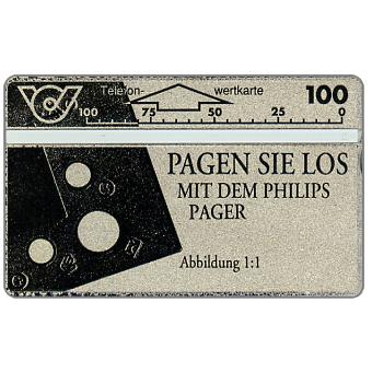 Philips Pager, 100 units