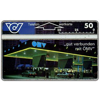 The Phonecard Shop: OMV petrol station, 50 units