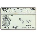 The Phonecard Shop: Austria, Zodiacus, Widder, 100 units