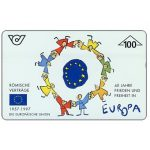 The Phonecard Shop: Austria, 40 years Europa, 100 units
